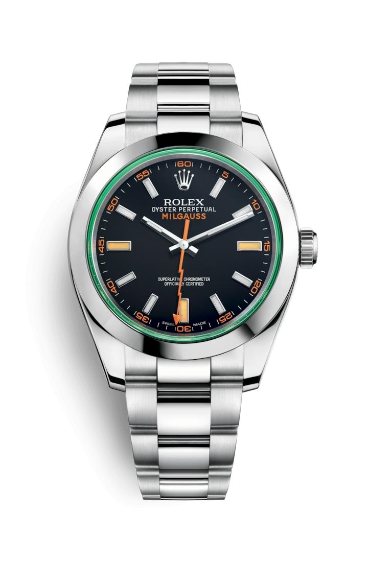 e3d2a9b7c75 Rolex 116400gv 0001 Milgauss prezzo migliore con scheda d acquisto ...