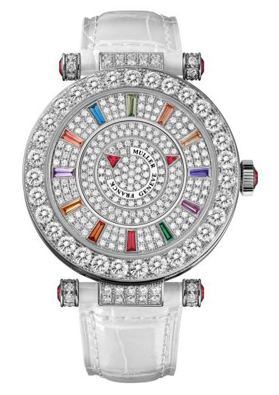 39DMCOLD1CDOG-CDCOL Franck Muller Round Double Mistery