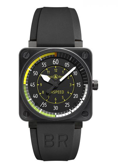BR0192-AIRSPEED Bell & Ross Instrument BR 01