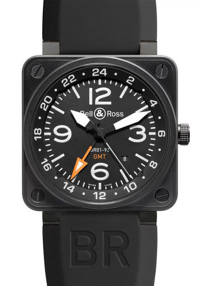 BR0193-GMT24H Bell & Ross Instrument BR 01