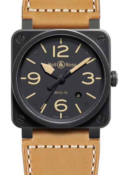 BR0392-HERITAGE-CE Bell & Ross Instrument BR 03