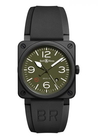 BR0392-MIL-CE Bell & Ross Instrument BR 03
