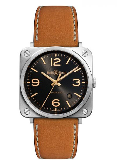 BR0392-ST-G-HE/SCA Bell & Ross Instrument BR 03