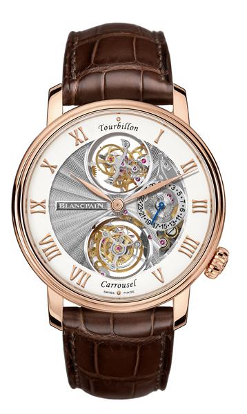 orologio costoso BLANCPAIN LE BRASSUS TOURBILLON CARROUSEL