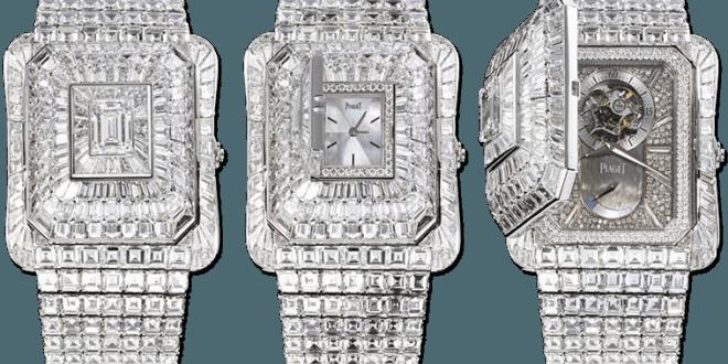 orologio prezioso PIAGET EMPERADOR TEMPLE WATCH con diamanti