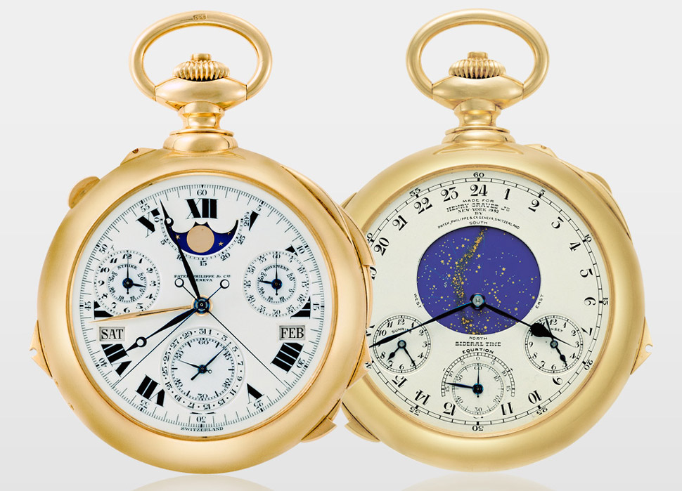 orologio costoso Patek Philippe Supercomplication