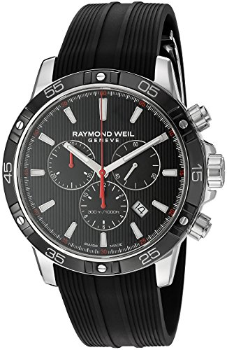 Orologio Uomo Raymond Weil 8560-SR1-20001 cinturino in gomma