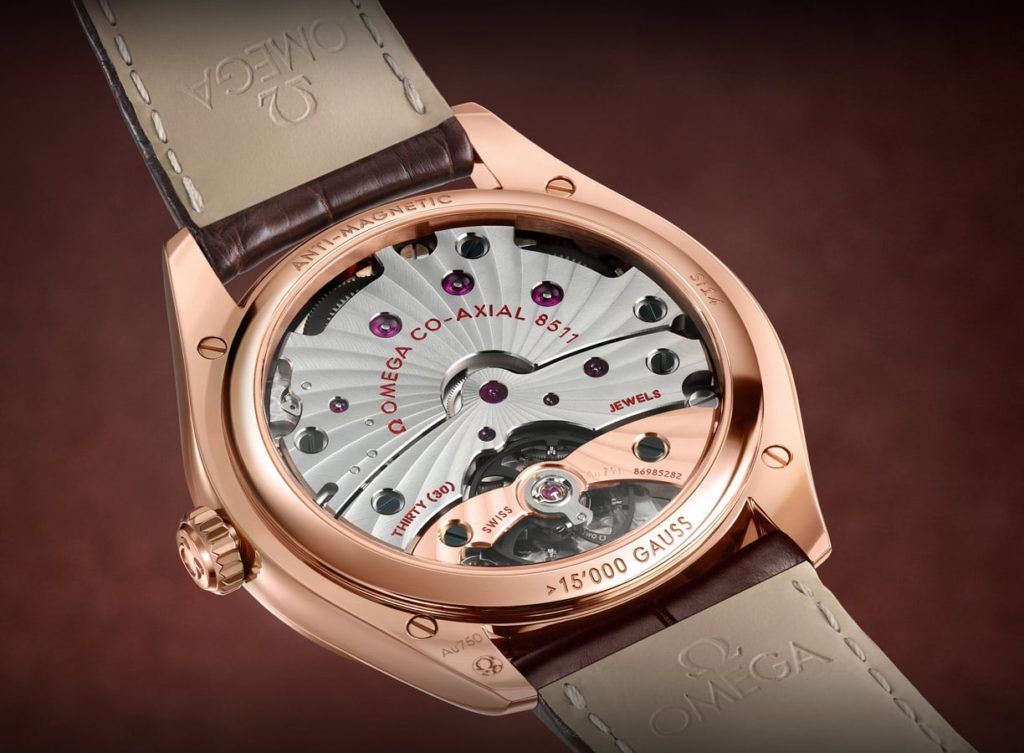 orologio elegante omega De Ville Trésor