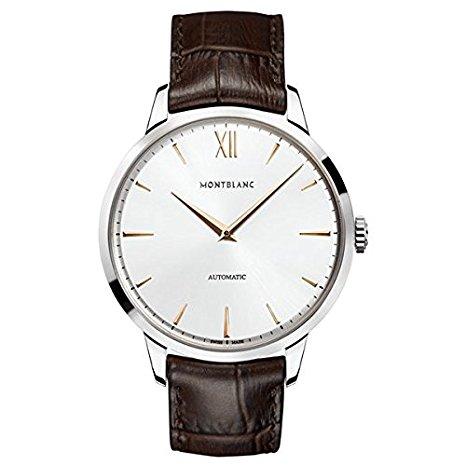 orologio classico uomo Montblanc HERITAGE SPIRIT 110965 Automatico Pelle