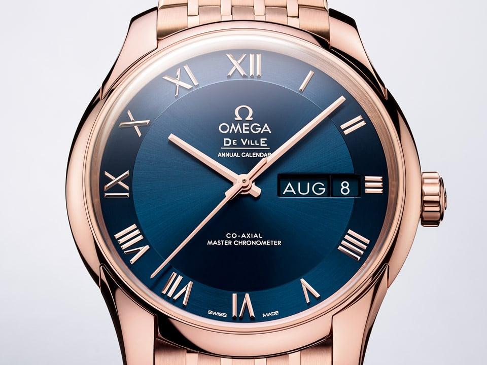 orologio da polso elegante omega De Ville Hour Vision