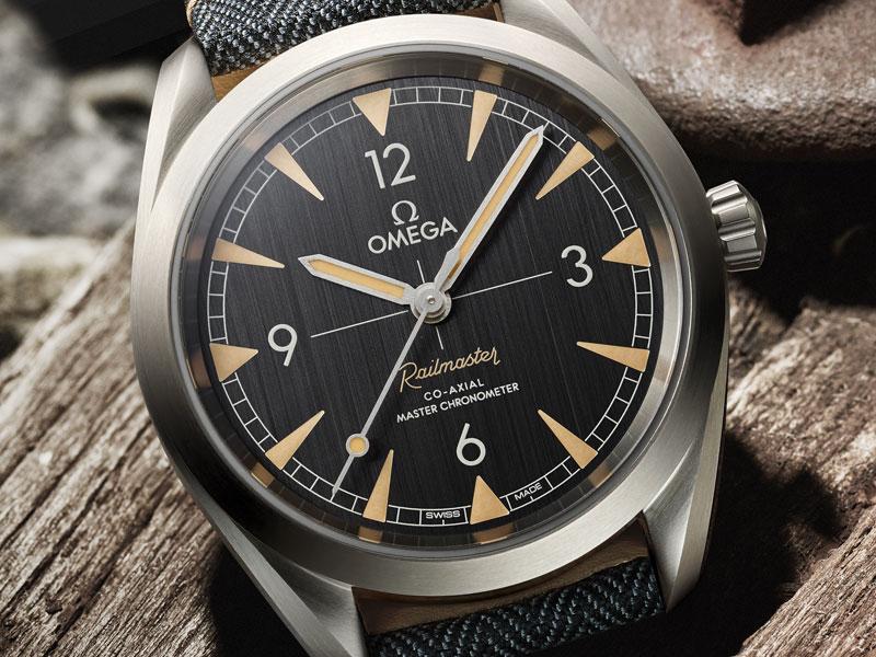 orologio di lusso Seamaster Railmaster
