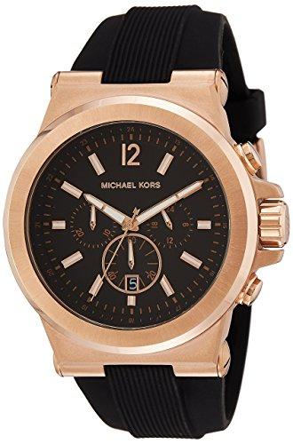 orologio uomo con cinturino in gomma Michael Kors - Dylan