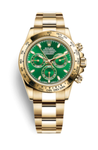 Rolex Daytona Verde 116508