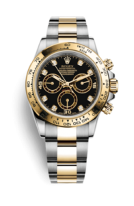 Rolex Daytona con Diamanti in castoni d'oro 18 ct. 116503-0008