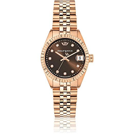 Orologio oro rosa donna - Philip Watch Caribe R8253597520