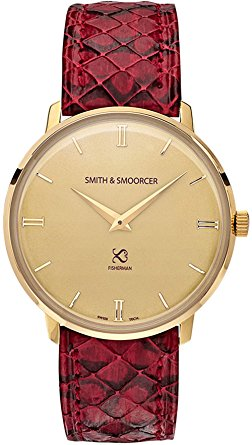 orologi vintage donna - Smith & Smoorcer Fisherman Vintage Viper Rouge F-1617-VIP-D-C-19