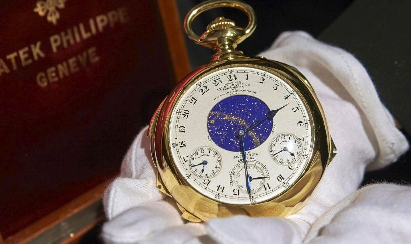 orologio da tasca più costoso - Patek Philippe Henry Graves Supercomplication