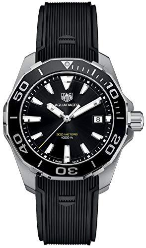 Orologio svizzero cinturino in gomma Tag Heuer Aquaracer WAY111A.FT6151