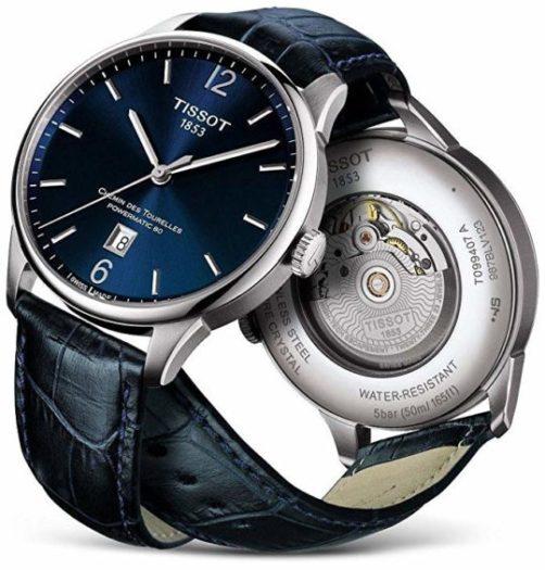 Orologio svizzero elegante Tissot Chemin des Tourelles T0994071604800