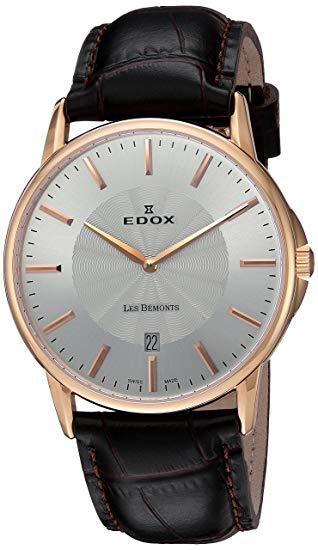 orologio svizzero classico EDOX 56001 37R
