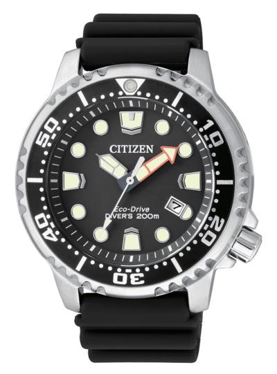 Citizen Promaster Diver Eco Drive Cinturino in gomma BN0150-10E