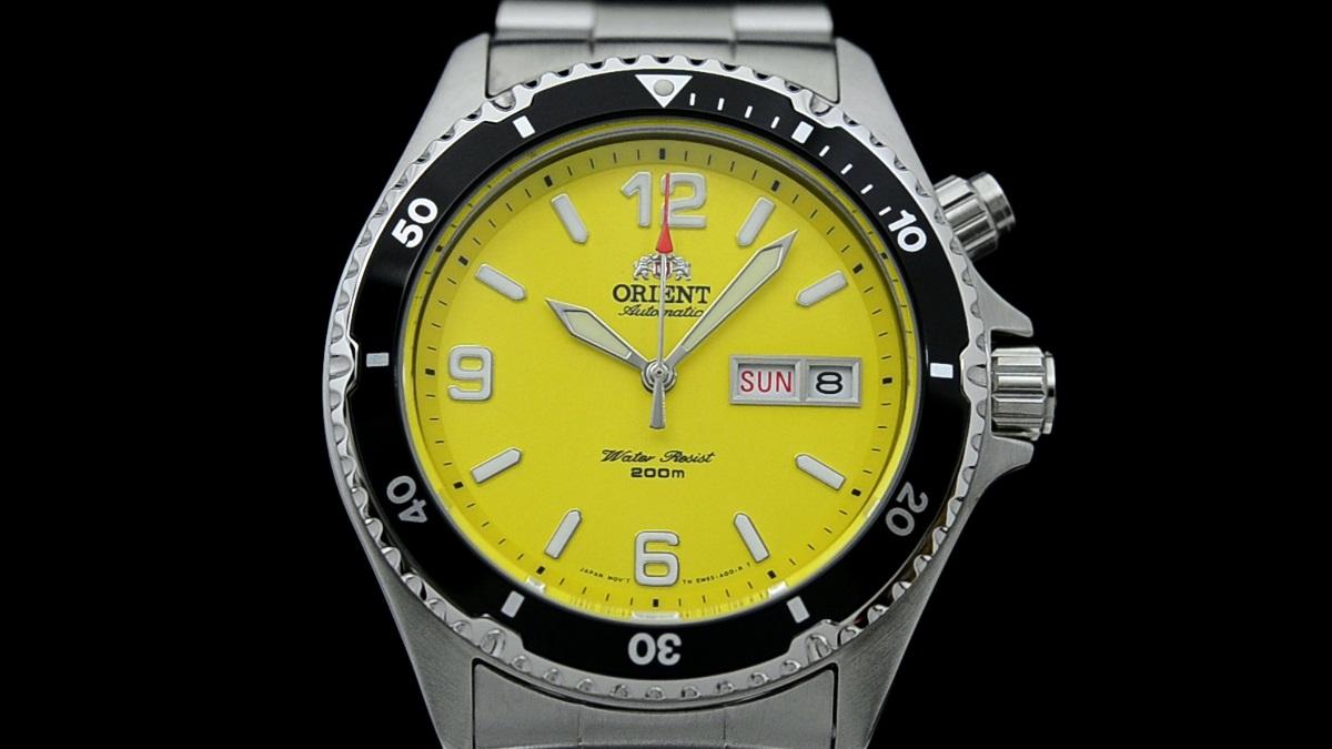 Orient Mako giallo