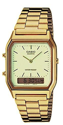 casio oro analogico