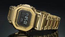 orologio casio oro