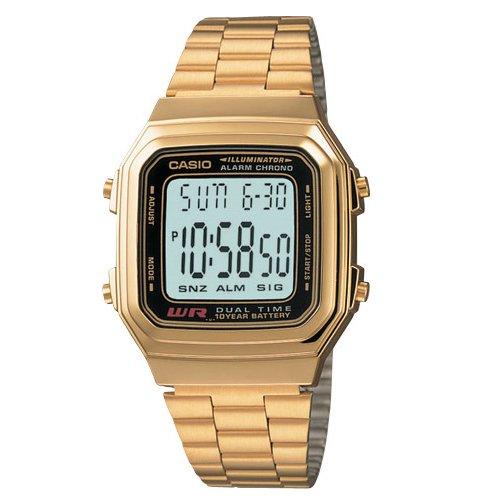 orologio casio oro grande