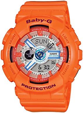 Casio g-shock arancione