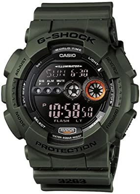 Casio g shock verde