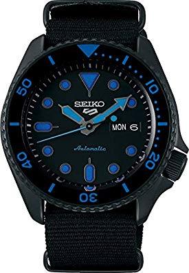 Seiko 5 Sports Street srpd81k1 – Blu con Cinturino NATO