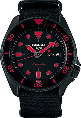 Seiko 5 Sports Street srpd83k1 – Rosso con cinturino NATO