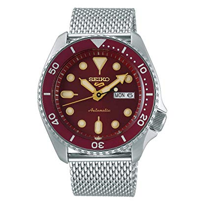 Seiko 5 Sports Suits srpd69k1 - Rosso
