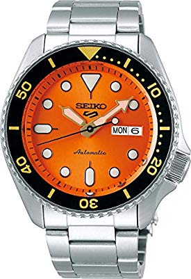 Seiko 5 Sports srpd59k1 – Arancione