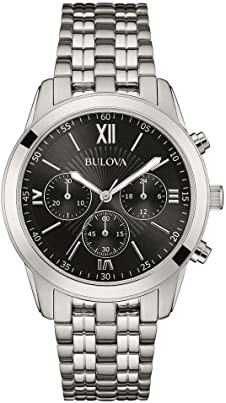 bulova dress chrono 96a175