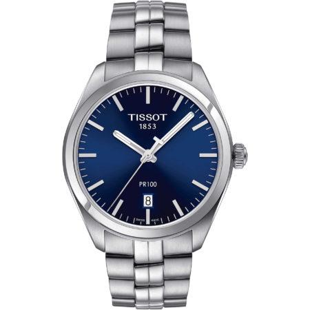 orologio elegante blu