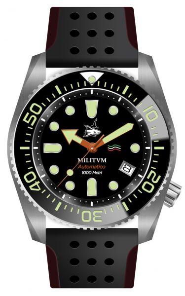 orologi Militum 1000 Nero Shark