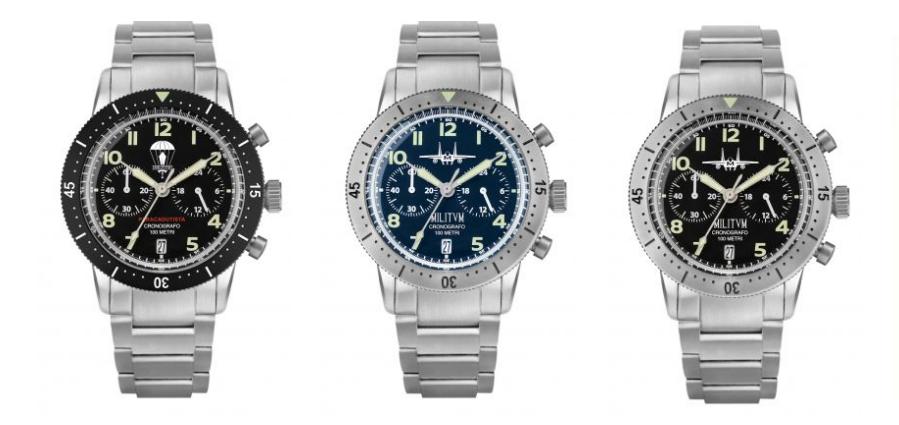 orologi Militum crono pilot