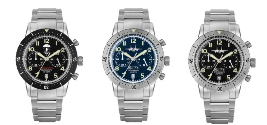 orologi Militum crono pilot 2