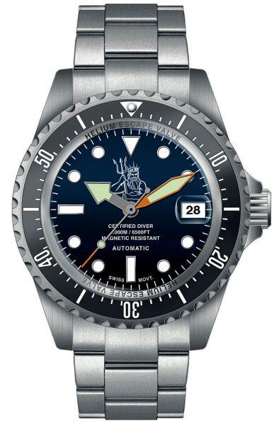 orologio Militum 2000 Poseidone Blu