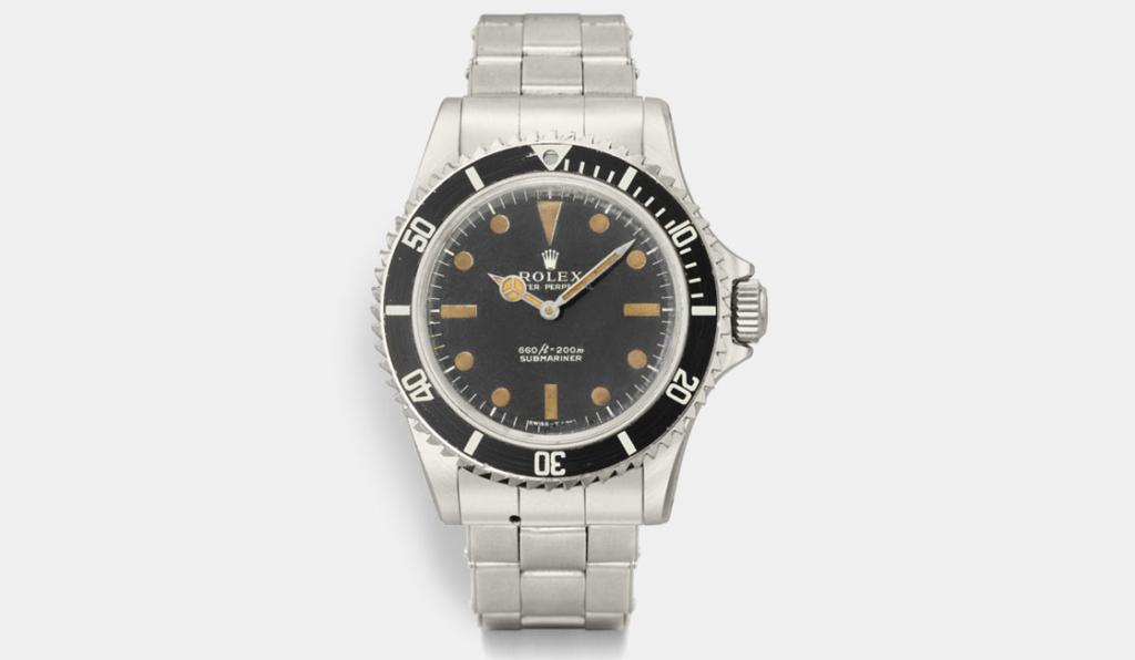 Rolex Submariner 1972 di James Bond
