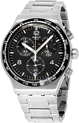 orologi acciaio uomo 200 euro - Swatch Cronografo